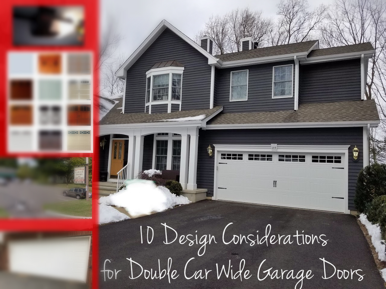 Double Car Wide Garage Door by Overhead Door Company of Central Jersey