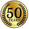 45 Years Logo Overhead Door Company Central Jersey