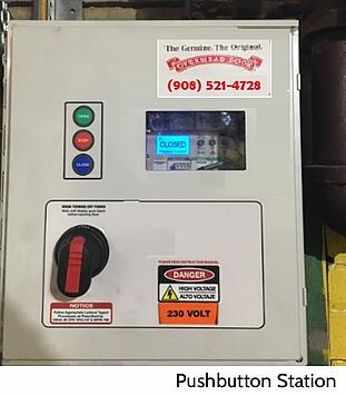 Accessories for Commercial Garage Door Operators; pushbutton station