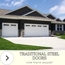 Button - Traditional Steel Garage Doors