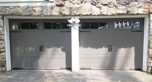 Carriage House Doors - Steel 1