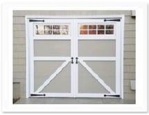 Carroage House Garage Door, Barn Door with Window and Decoration Hardware NJ