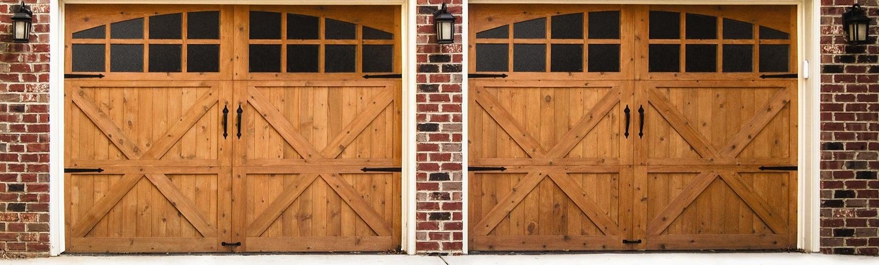 Clopay Carriage House Wood Garage Door