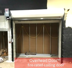 Commercial Doors for Auto Dealerships; Auto Dealership Commercial Door; Overhead Door Company of Central Jersey; Fire Rated Coiling Door