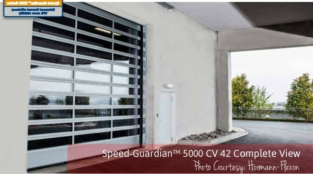 Commercial Doors for Auto Dealerships; Auto Dealership Commercial Door; Overhead Door Company of Central Jersey; Speed-Guardian™ 5000 CV 42 Complete View
