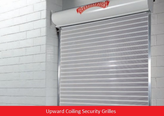 Commercial Doors for Hospitals and Medical Facilities; Overhead Door Company of Central Jersey Commercial Door; Commercial Door; Upward Coiling Security Grilles