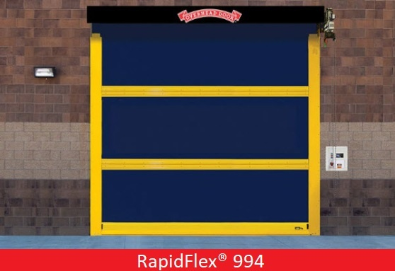 Commercial Doors for Hospitals and Medical Facilities; Overhead Door Company of Central Jersey Commercial Door; High Speed Heavy Duty Exterior Fabric Door - 994; RapidFlex® 994