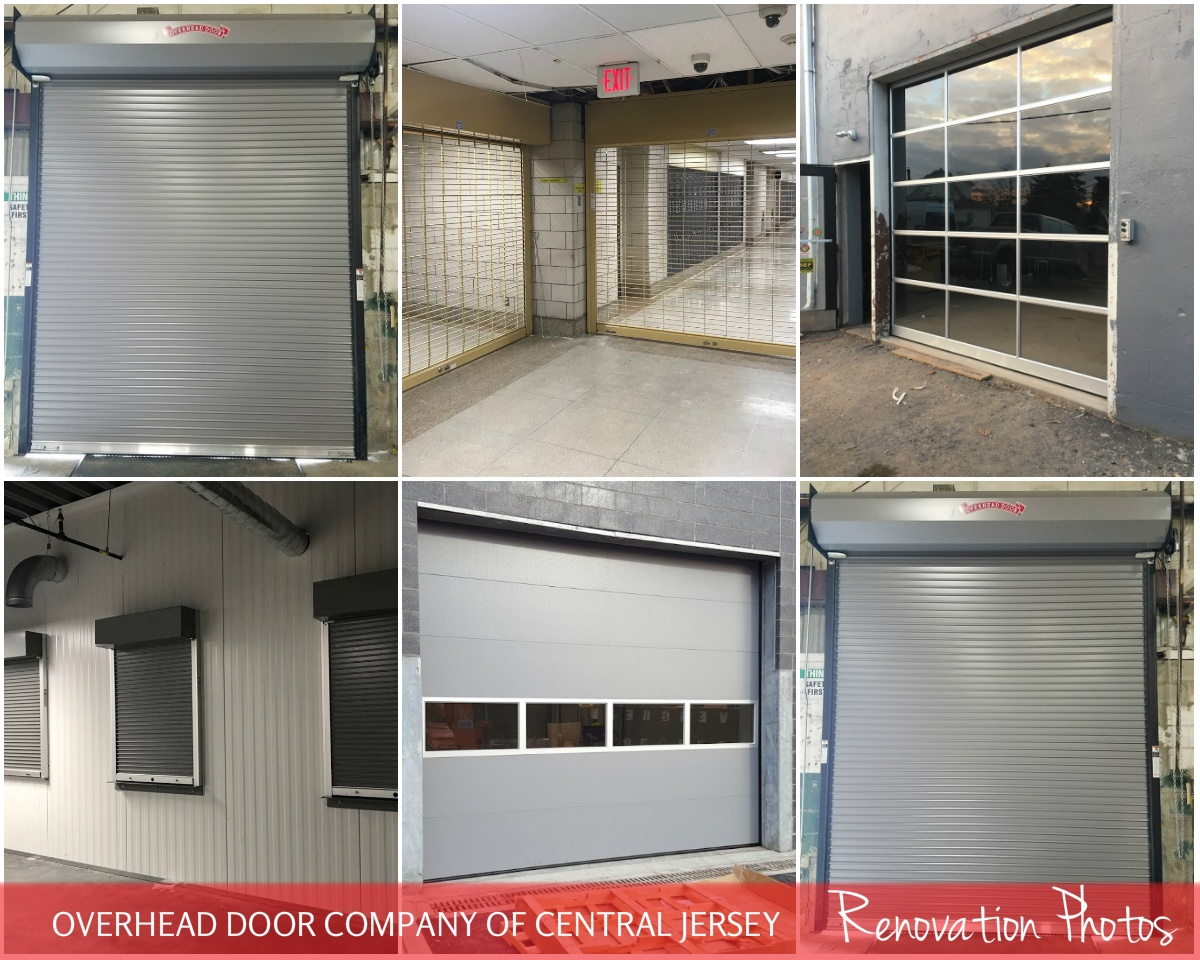 Commercial Doors for Hospitals and Medical Facilities; Overhead Door Company of Central Jersey Commercial Door; Renovation Photos