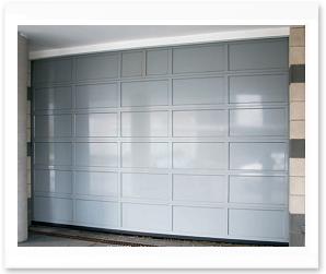 Commercial Recessed Solid Aluminum Panel Garage Doors Model 521 in NJ