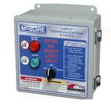 Control Panel - McGuire Dock Alert Light Communication System NJ
