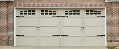 Courtyard Collection® - Double Car Wide Garage Door - Carriage House Doors-1
