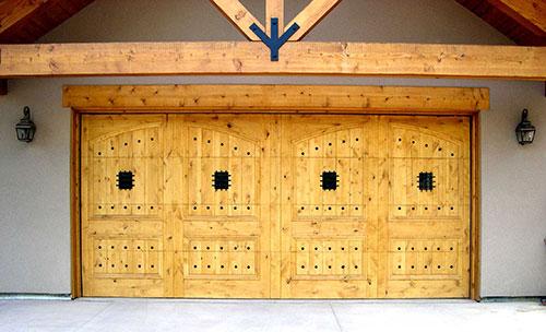 Custom Wood Garage Door Photo Credit Arizona Custome Garage Doors