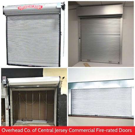 Fire Door Inspections & Drop Tests; Overhead Door Co. of Central Jersey fire rated doors