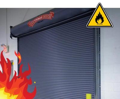 Fire Rated Door, Roll Up Fire Door