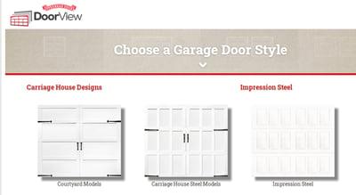 Garage Door Design Center - Screenshot 1