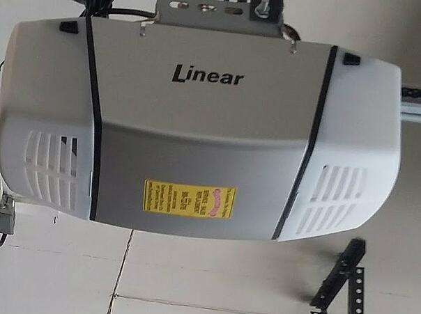 Garage Door Opener Buyer's Guide; Linear garage door opener.
