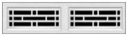 Garage Door Window Style for Traditional Garage Doors - Stockford 2