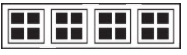 Garage Door Window Style for Traditional Garage Doors - Stockton1