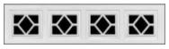 Garage Door Window Style for Traditional Garage Doors - Waterton 1