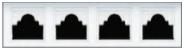 Garage Door Window Style for Vinyl Garage Doors - Ruston 1