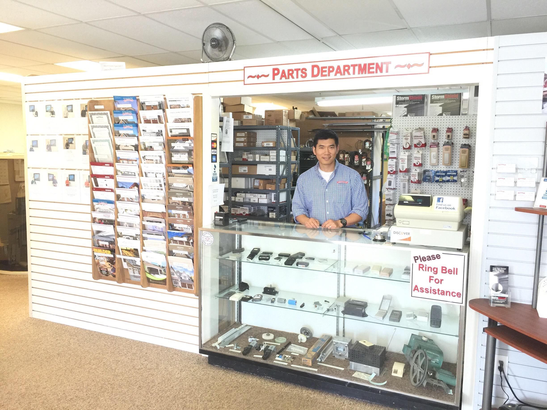 Garage-Door-Opener-Remotes-Parts-Store-Counter.jpg