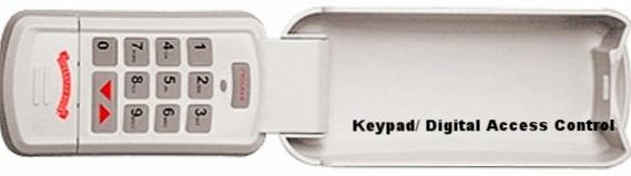 History of Garage Door Keypads; Keypads; Digital Access Control; DAC