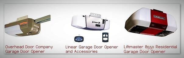 History of the Garage Door Operator; Overhead Door Company of Central Jersey Garage Door Opener options; Overhead Door Company of Central Jersey Garage Door Opener; Linear Garage Door Opener and Accessories; Liftmaster 8550 Residential Garage Door Opener.