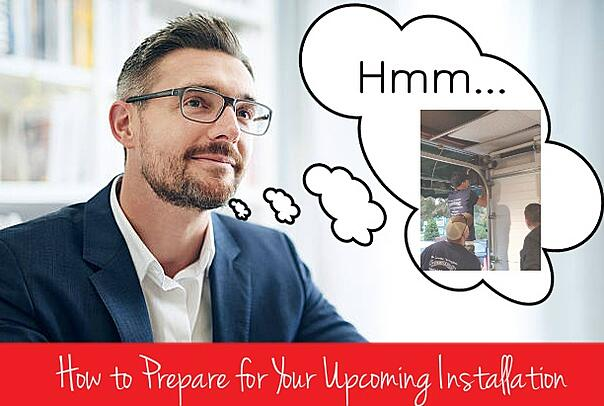 How to Prepare for Your Upcoming Installation; Man thinking; Overhead Door Company of Central Jersey technicians.jpg