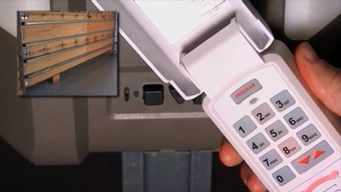 How to Program a Garage Door Keypad; Overhead Door Central Jersey Garage Door Keypads; programming garage door keypad; opening a garage door using a keypad