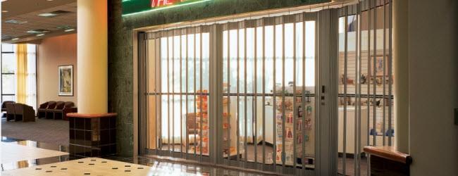 Decorative Security Grille Door