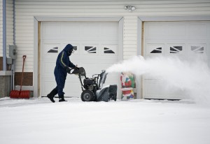 Frozen Garage Door