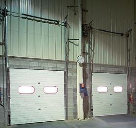 Model 598 Overhead Door, Light Duty, Superior Thermal Protection