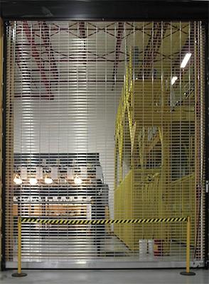 High Tech RapideGrille AP Model 676 Commercial Door