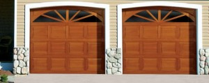 Traditional Wood Garage Door