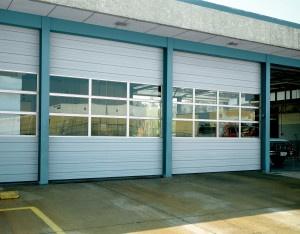 Sectional Steel Commercial Door