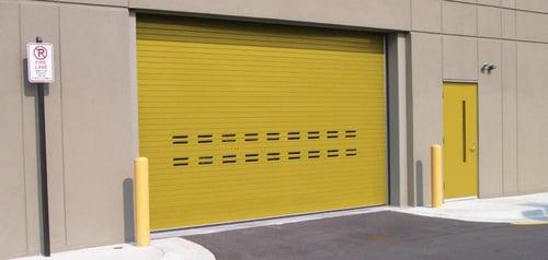 Insulated Roll Up Door, High Performance Door by Cookson