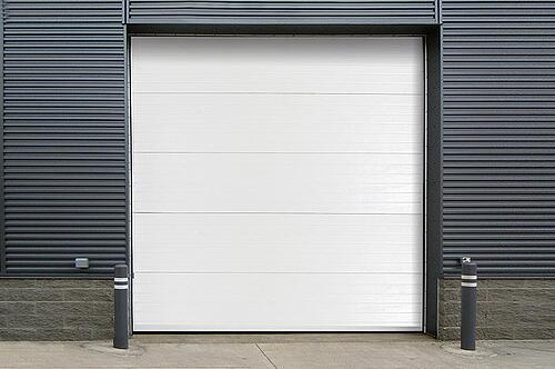 Insulated Sectional Steel Door 470 Wide in Central Jersey