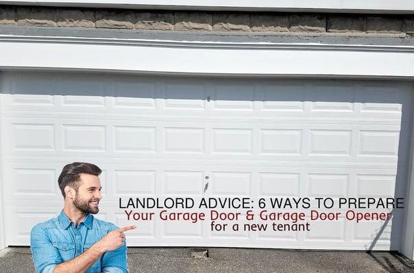 Landlord Advice 6 Ways to Prepare Your Garage Door & Garage Door Opener for a New Tenant; Raised Panel Garage Door.jpg