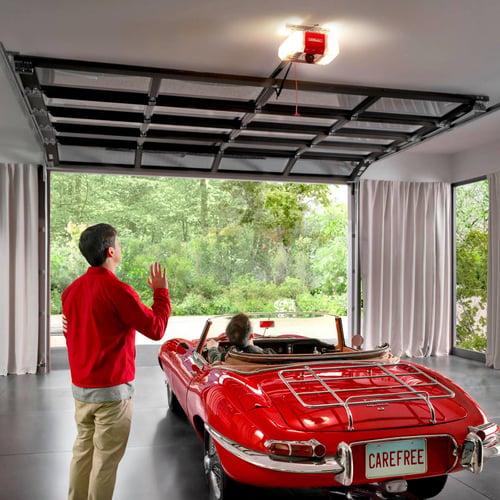 LiftMaster Secure View Garage Door Opener with Integrated Camera