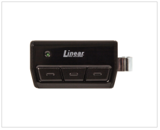 Linear Garage Door Accessory - 1 and 3 Channel Visor Transmitter