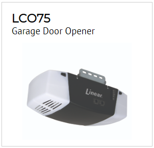 Linear Garage Door Opener Model LCO75