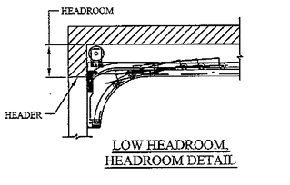 Low headroom detail for Overhead Doors