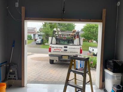 Matching Your Garage Door to Your Exterior Elevation Garage Door Opener System; overhead door company of central jersey service truck; garage door installation