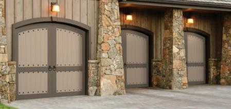 Medieval Look Carriage House Garage Doors