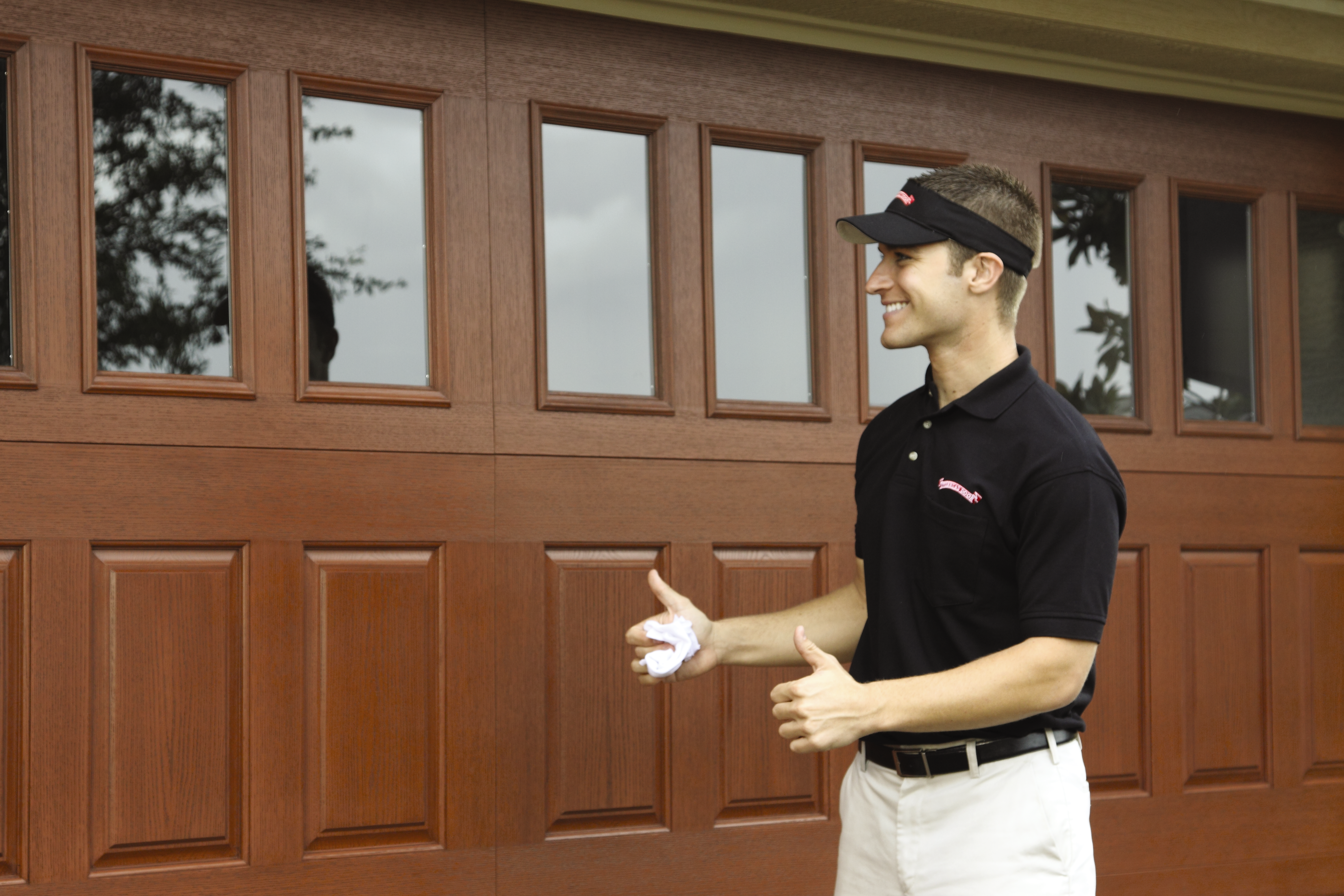 O-RD-Installer and the door