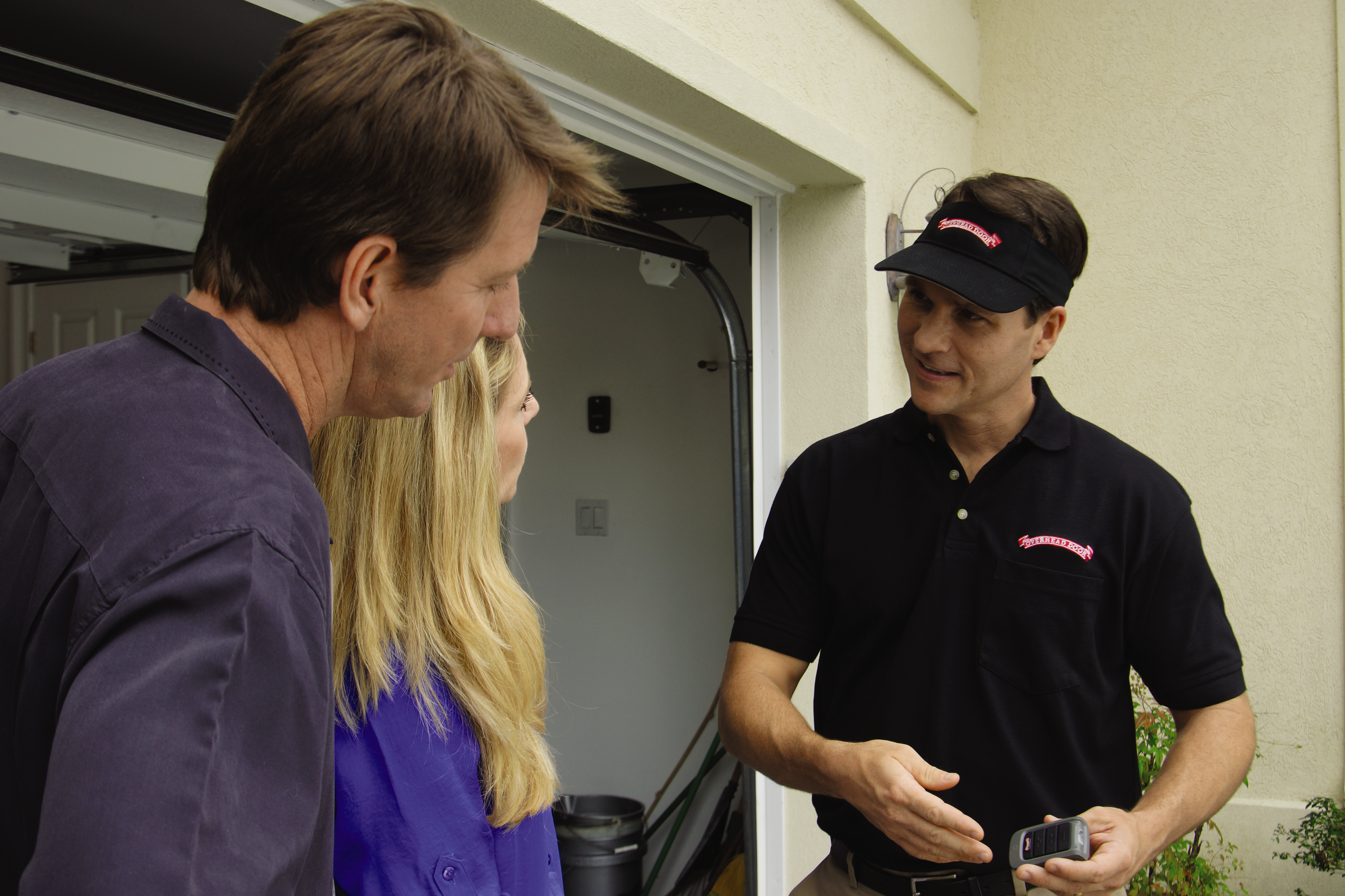 Overhead Door Company of Central Jersey's fully trained technicians is ready to visit your home to diagnose and repair most door system problems on the same visit