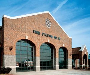 Commercial Sectional Door Firestation