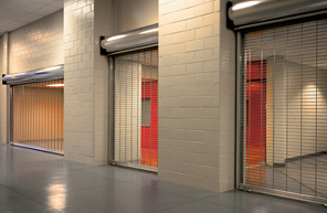Commercial Security Grille