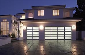 Garage Door Contemporary Aluminum & Glass