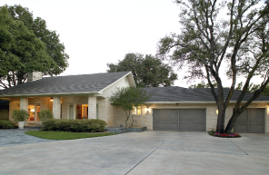 Garage Door Contemporary Ranch
